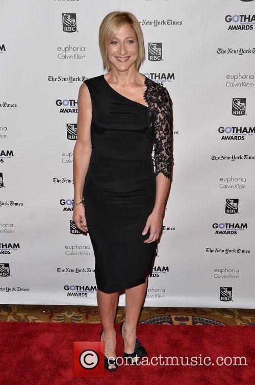 Edie Falco  Gotham Awards 2011 - Arrivals...