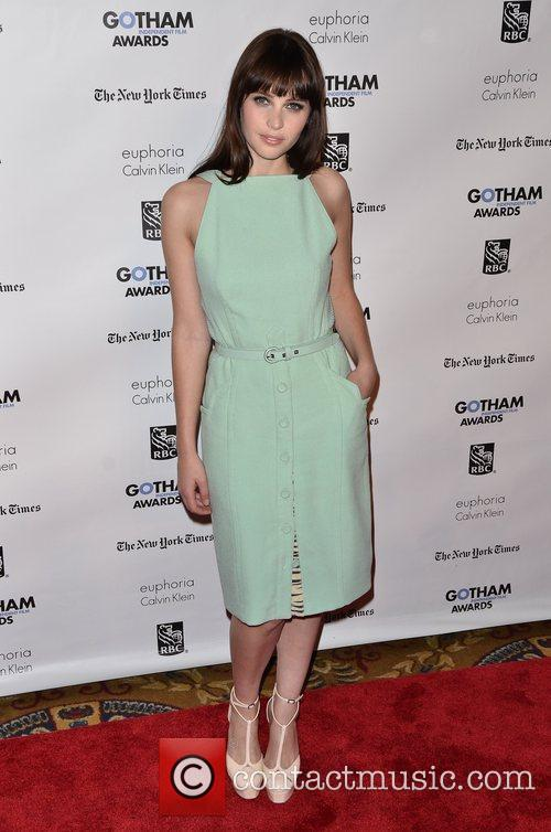 Felicity Jones  Gotham Awards 2011 - Arrivals...