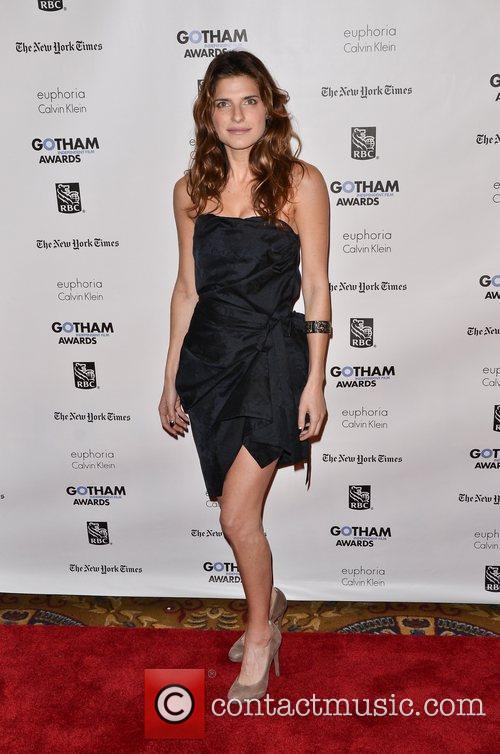 Lake Bell  Gotham Awards 2011 - Arrivals...