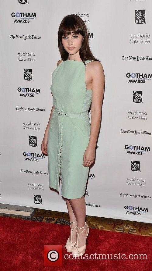 felicity jones gotham awards 2011 arrivals new 3631819