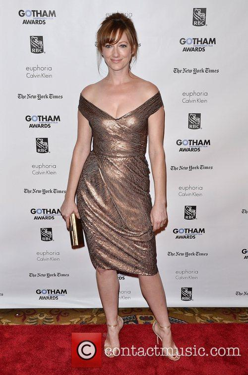 Judy Greer  Gotham Awards 2011 - Arrivals...