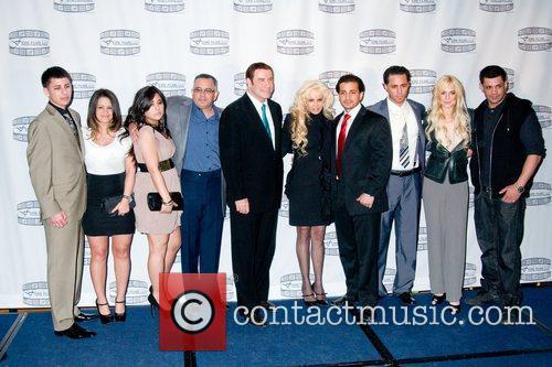 John Gotti Jr., John Travolta, Victoria Gotti, John...