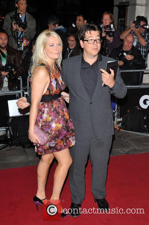 Michael McIntyre and guest 2011 GQ Men of...