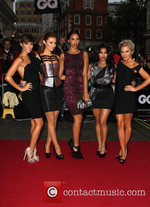 Frankie Sandford, Mollie King, Rochelle Wiseman, The Saturdays, Una Healy and Vanessa White 2