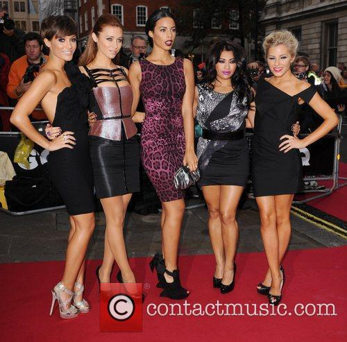 Frankie Sandford, Mollie King, Rochelle Wiseman, The Saturdays, Una Healy and Vanessa White 3