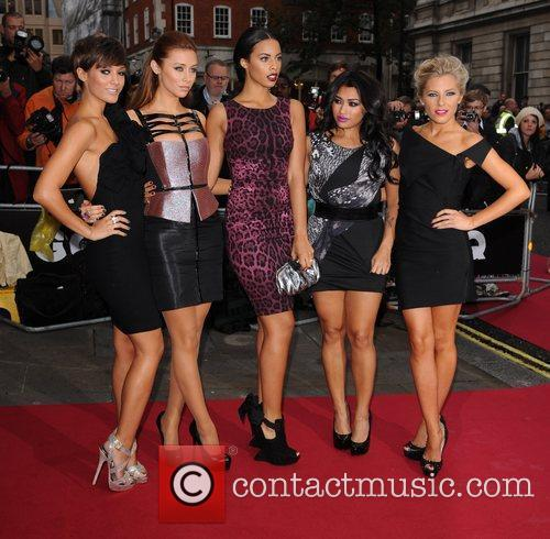 Frankie Sandford, Mollie King, Rochelle Wiseman, The Saturdays, Una Healy and Vanessa White 4