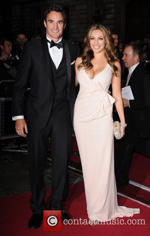 Thom Evans and Kelly Brook GQ Men of...