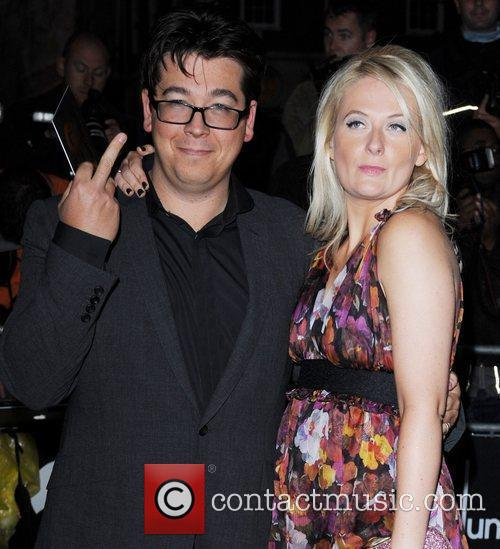Michael McIntyre and Kitty McIntyre GQ Men of...