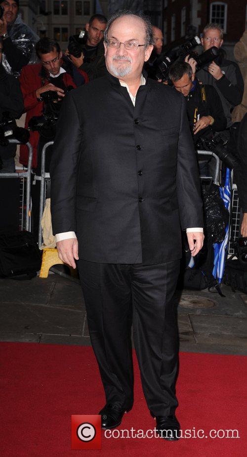 Salman Rushdie GQ Men of the Year Awards...