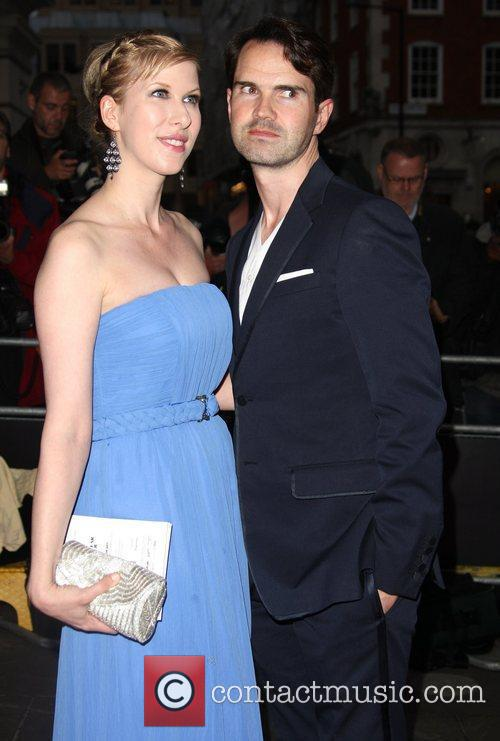 Jimmy Carr with his wife GQ Men of...