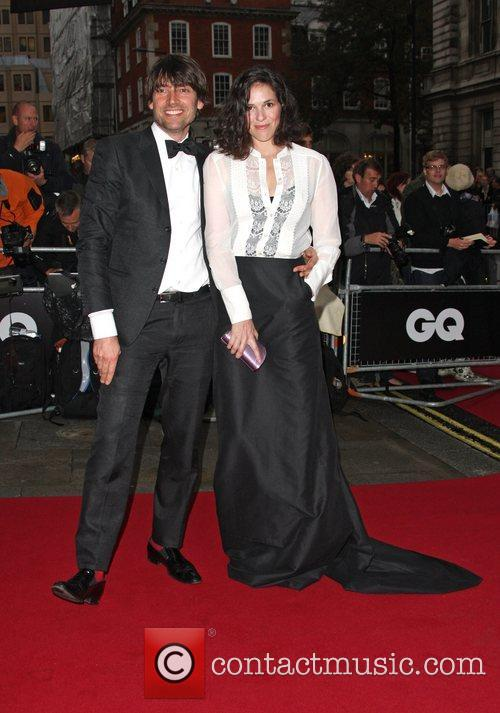 Alex James with his wife Claire Neate GQ...