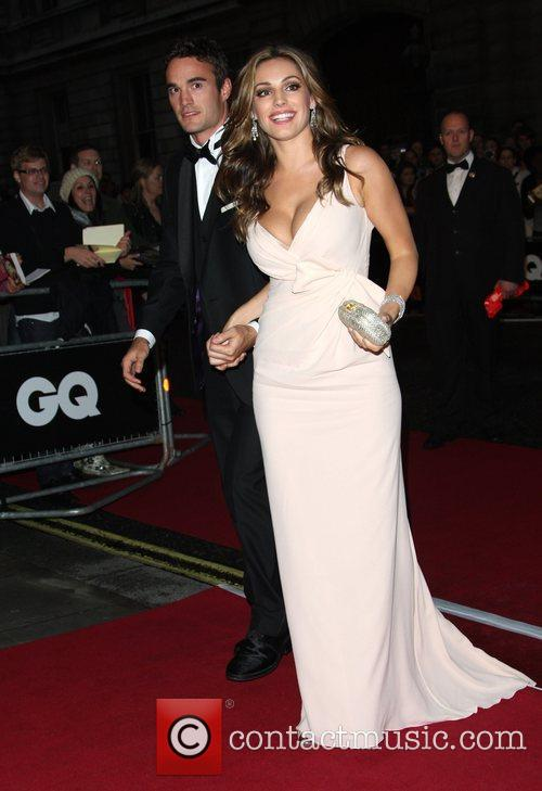 Kelly Brook and Thom Evans GQ Men of...