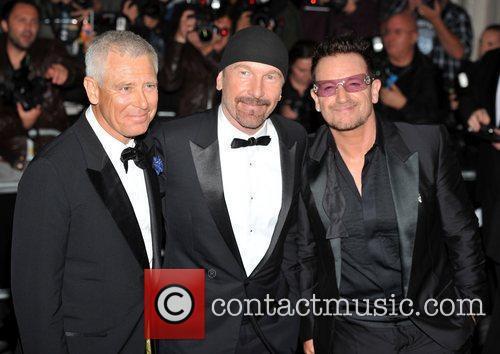 Adam Clayton, The Edge and Bono of U2...