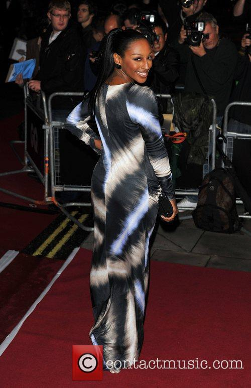 Alexandra Burke 2011 GQ Men of the Year