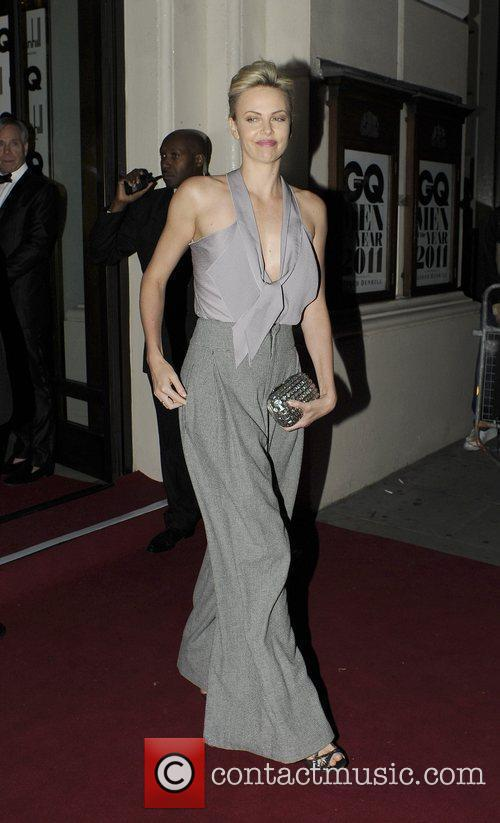 Charlize Theron GQ Men of the Year Awards...