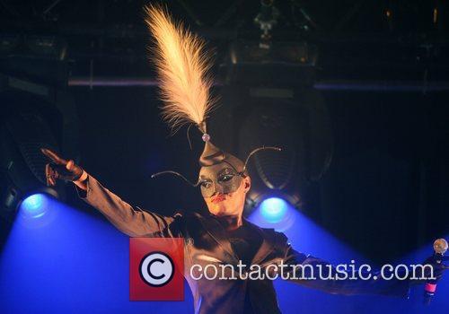 Grace Jones performing at Kyocera Stadion The Hague,...