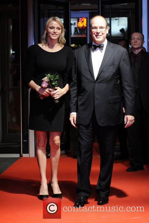 Charlene, Princess of Monaco and Albert II, Prince...