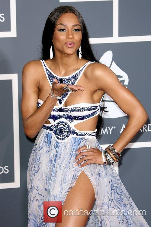 Ciara The 53rd Annual GRAMMY Awards at the...