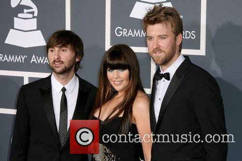 Dave Haywood, Hillary Scott and Charles Kelley of...