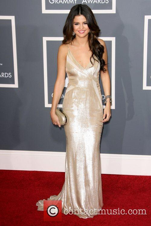 Selena Gomez The 53rd Annual GRAMMY Awards at...