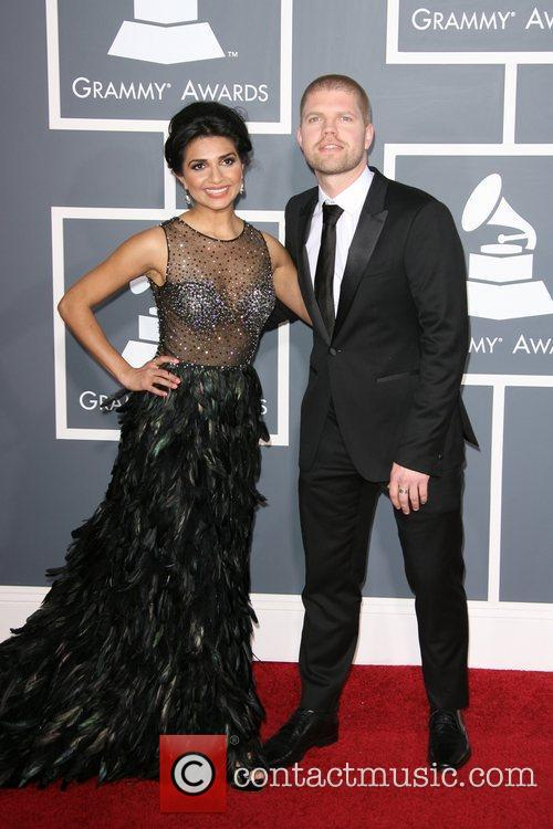 Nadia Ali The 53rd Annual GRAMMY Awards at...
