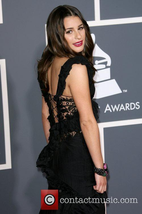 Lea Michele The 53rd Annual GRAMMY Awards at...