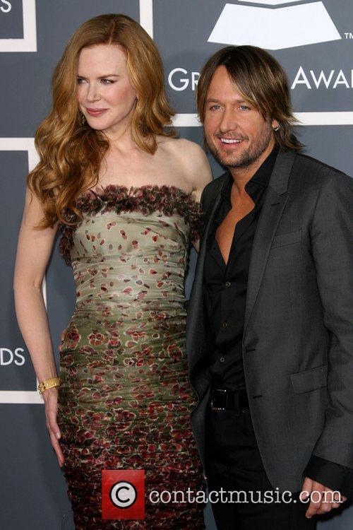 Nicole Kidman and Keith Urban The 53rd Annual...