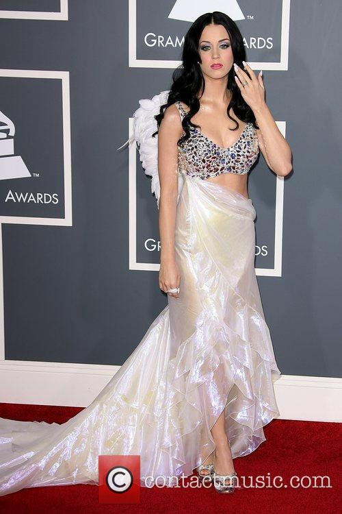 Katy Perry The 53rd Annual GRAMMY Awards at...