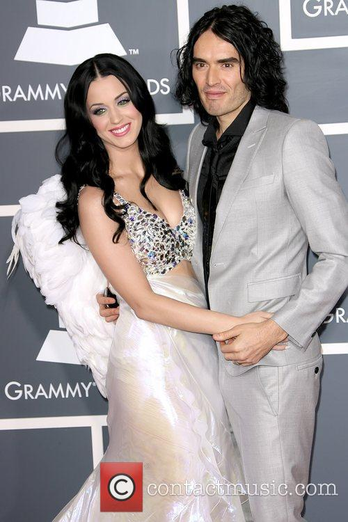 Katy Perry and Russell Brand The 53rd Annual...