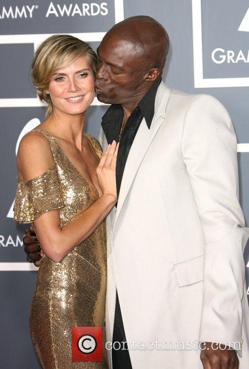 Heidi Klum and Seal The 53rd Annual GRAMMY...