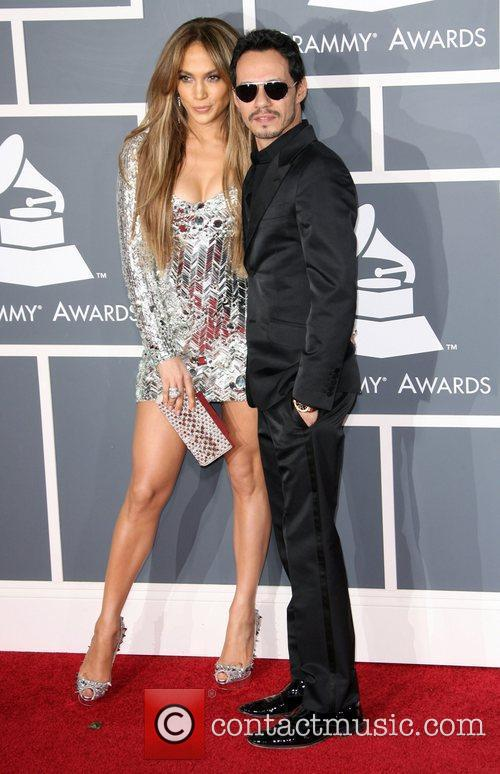 Jennifer Lopez and Marc Anthony The 53rd Annual...