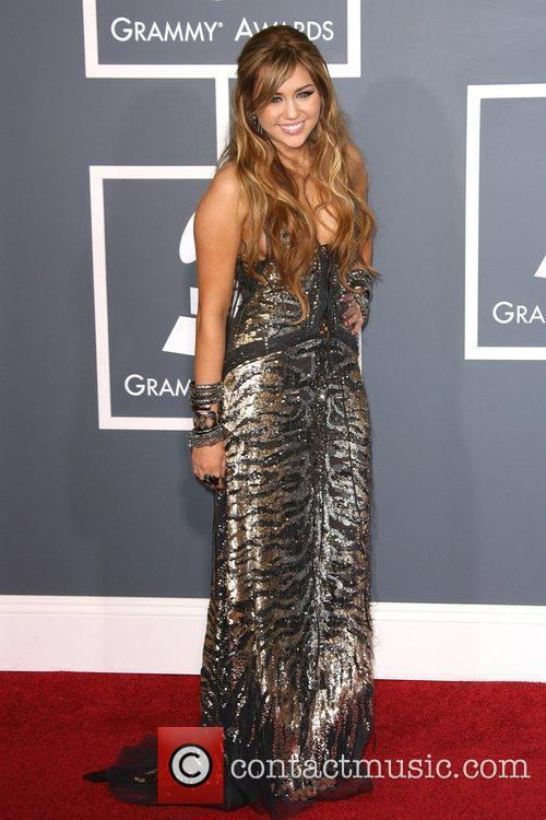 Miley Cyrus The 53rd Annual GRAMMY Awards at...