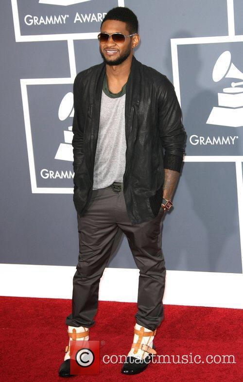 Usher The 53rd Annual GRAMMY Awards at the...