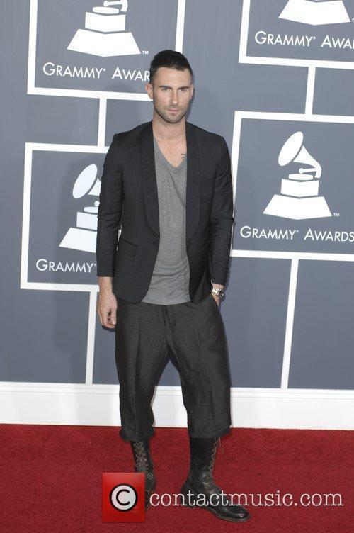 Adam Levine  The 53rd Annual GRAMMY Awards...