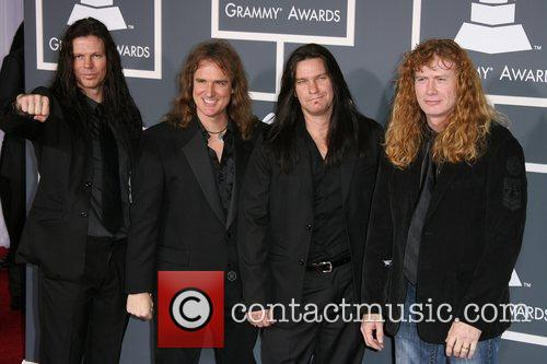 Megadeth The 53rd Annual GRAMMY Awards at the...