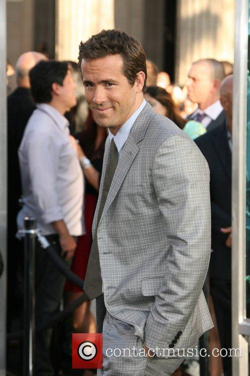 Ryan Reynolds Los Angeles Premiere of Warner Bros....