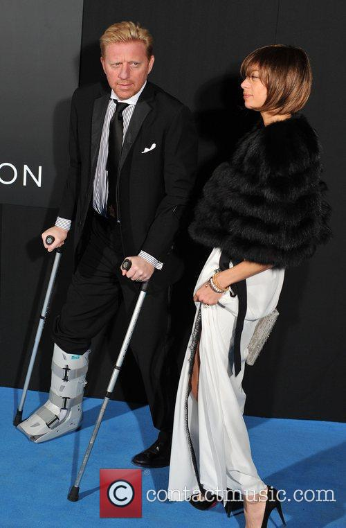 Boris Becker and Lilly Kerssenberg Grey Goose Winter...