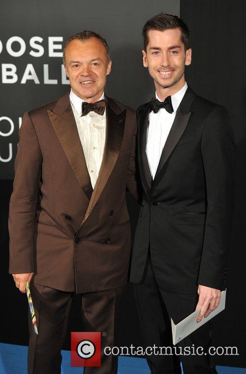 Graham Norton and guest Grey Goose Winter Ball...