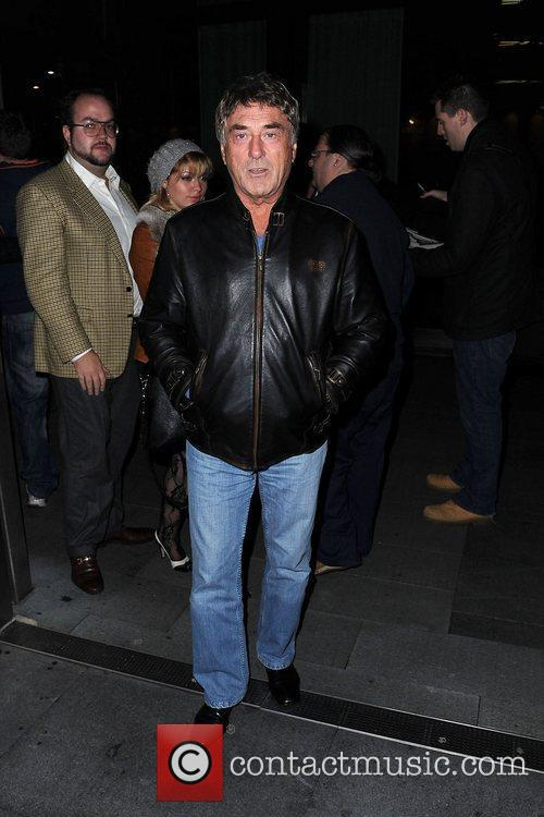 Celebrities outside their Manchester hotel to attend Grimm...
