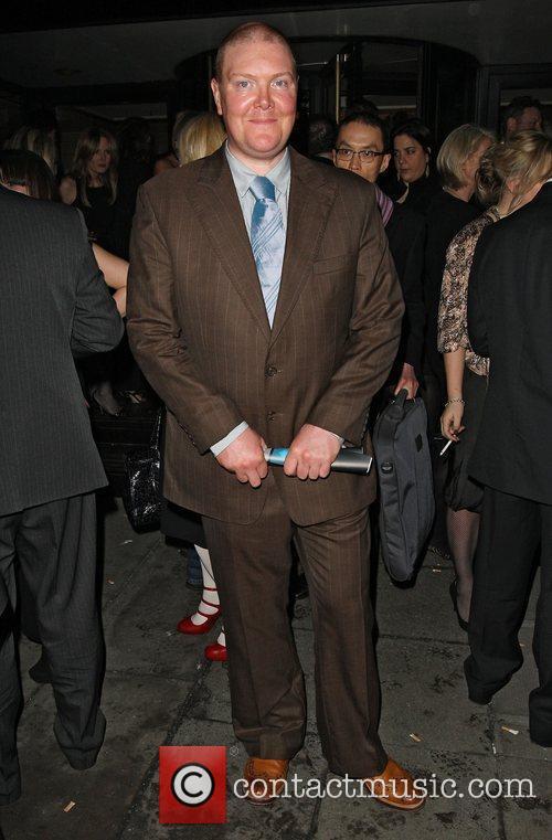 Dominic Brunt of Emmerdale at the Broadcast Awards...