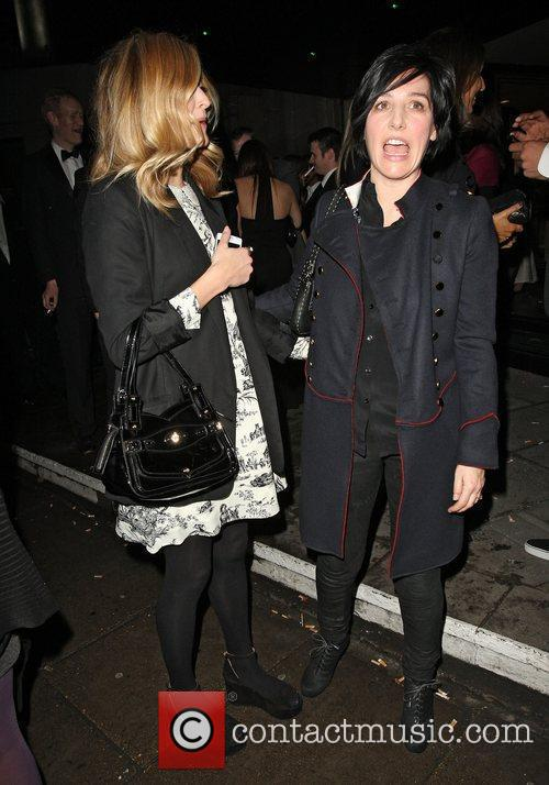 Sharleen Spiteri and Fearne Cotton at the Broadcast...