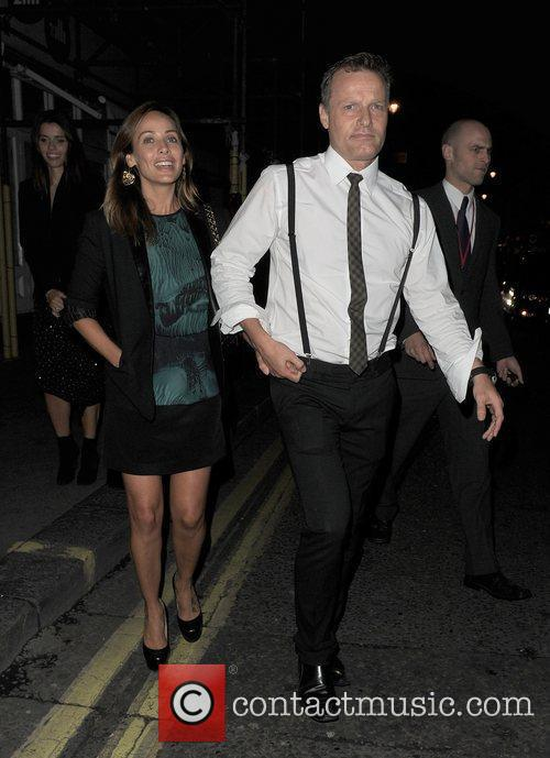 Natalie Imbruglia leaving the Groucho club