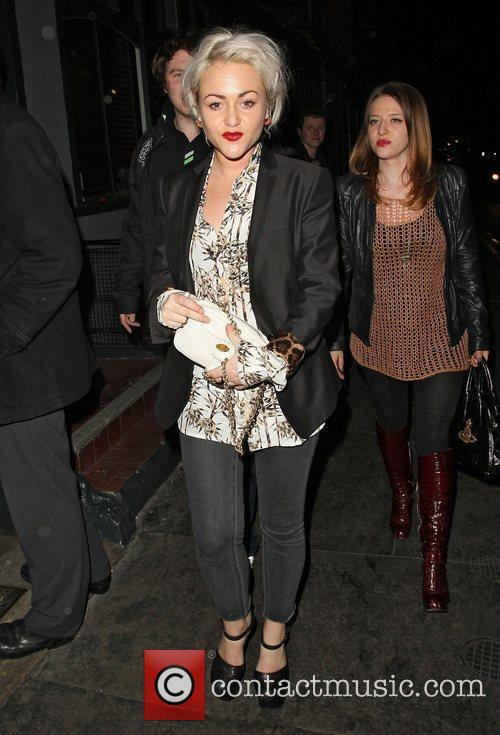 Jaime Winstone,  at the Groucho club in...