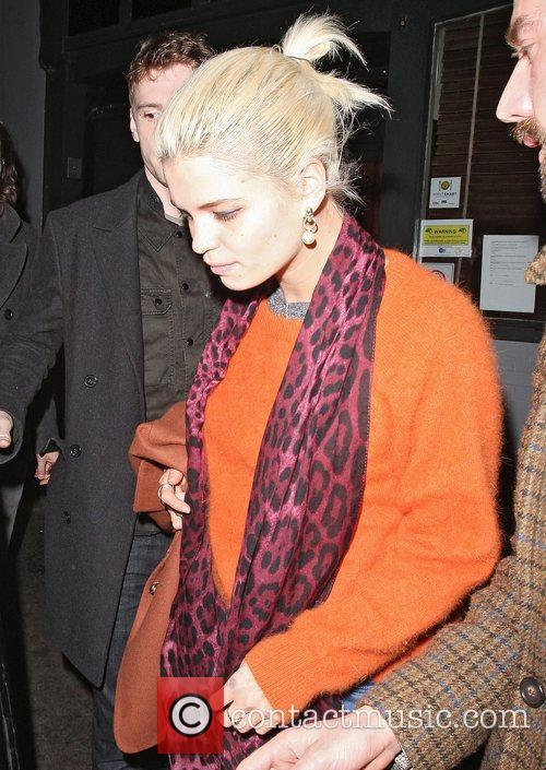 Pixie Geldof,  at the Groucho club in...