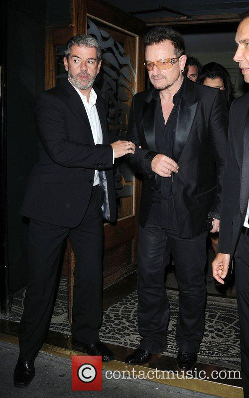 Bono and Groucho Club 5
