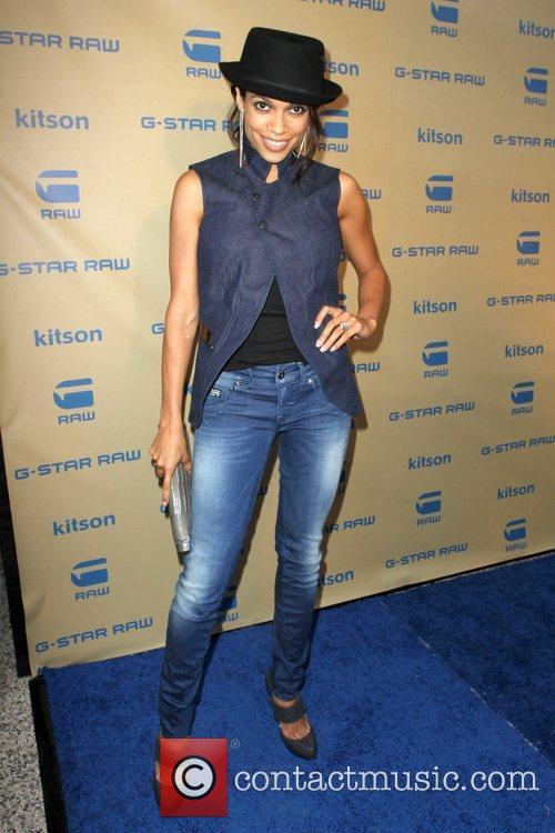 Rosario Dawson G-Star teams up with Kitson to...