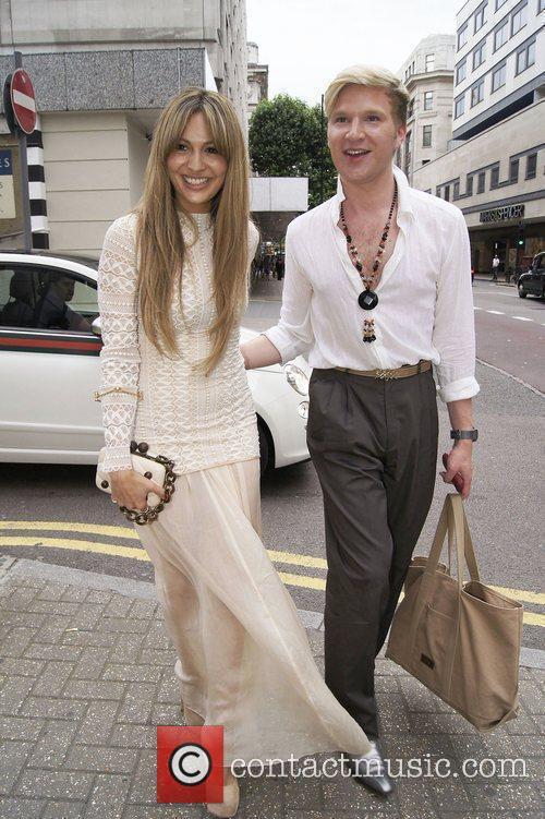 Zara Martin and Henry Conway ,  at...