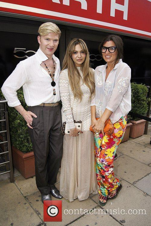 Zara Martin and Henry Conway and Grace Woodward,...