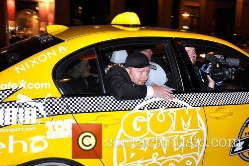 Karsten Green The Gumball 3000 car rally drives...