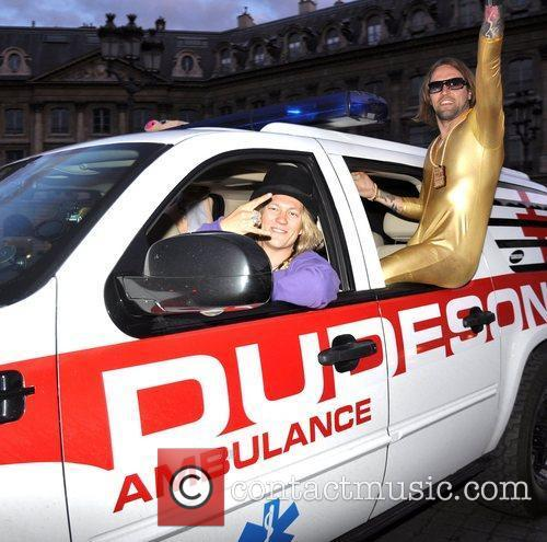 The Dudesons The Gumball 3000 car rally drives...